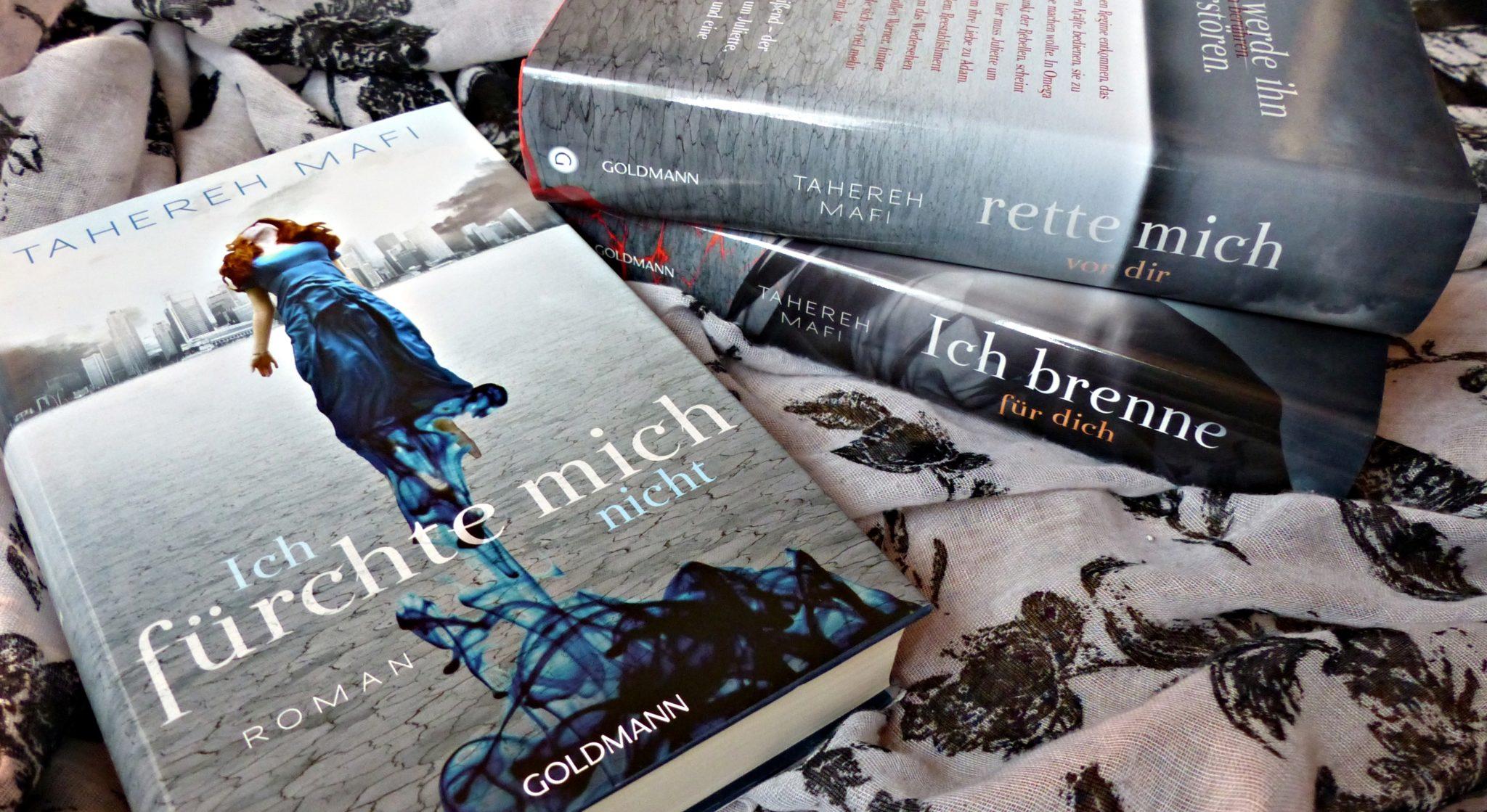 Buchreihe | Shatter me von Tahereh Mafi