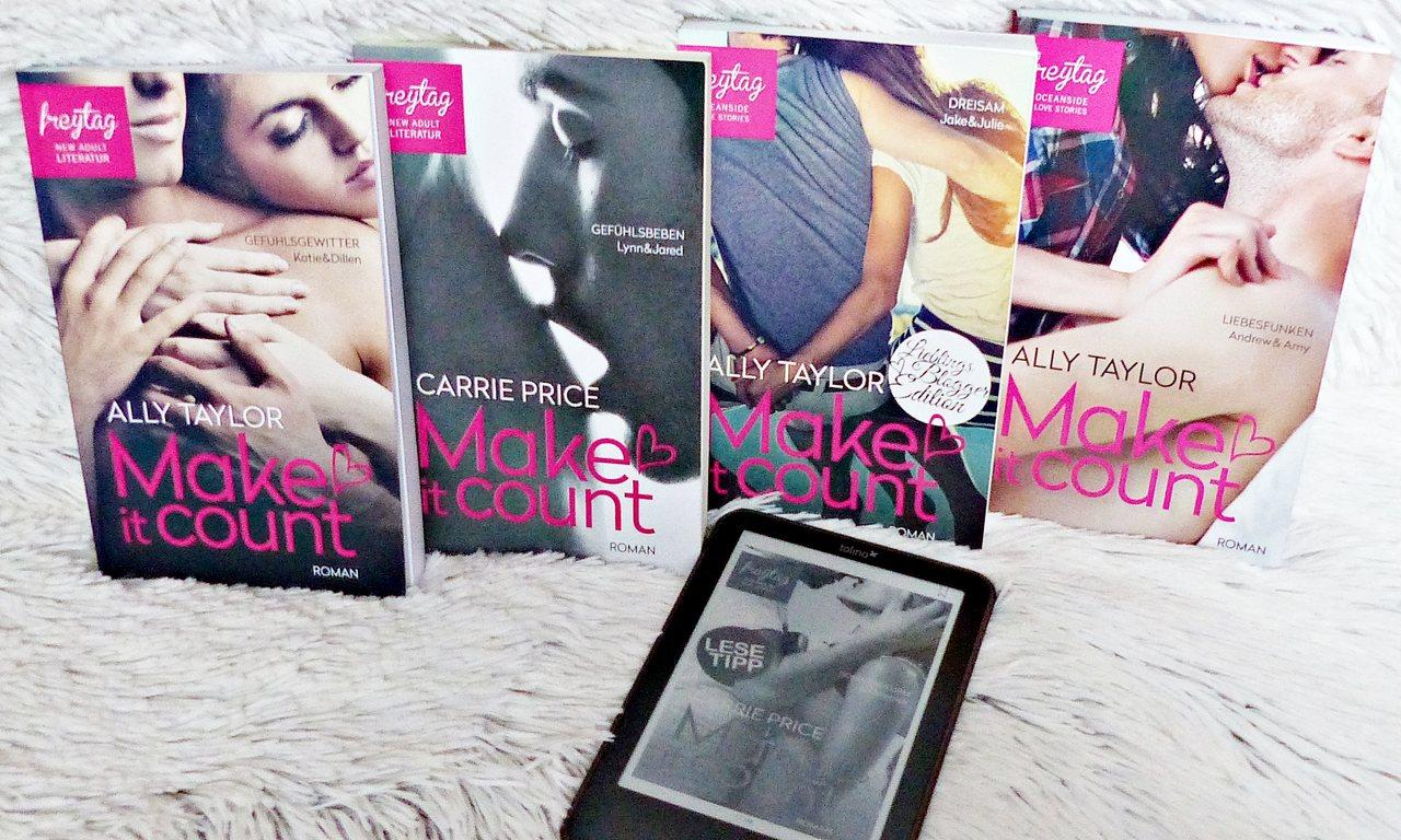 Buchreihe | Make it count von Ally Taylor & Carrie Price