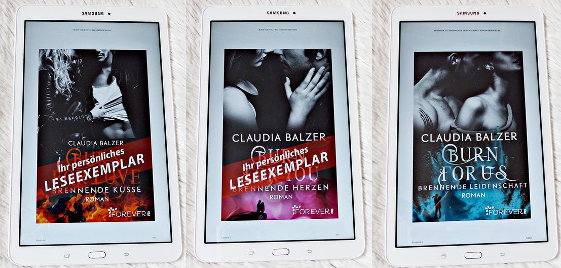 Buchreihe | Burn-Reihe von Claudia Balzer