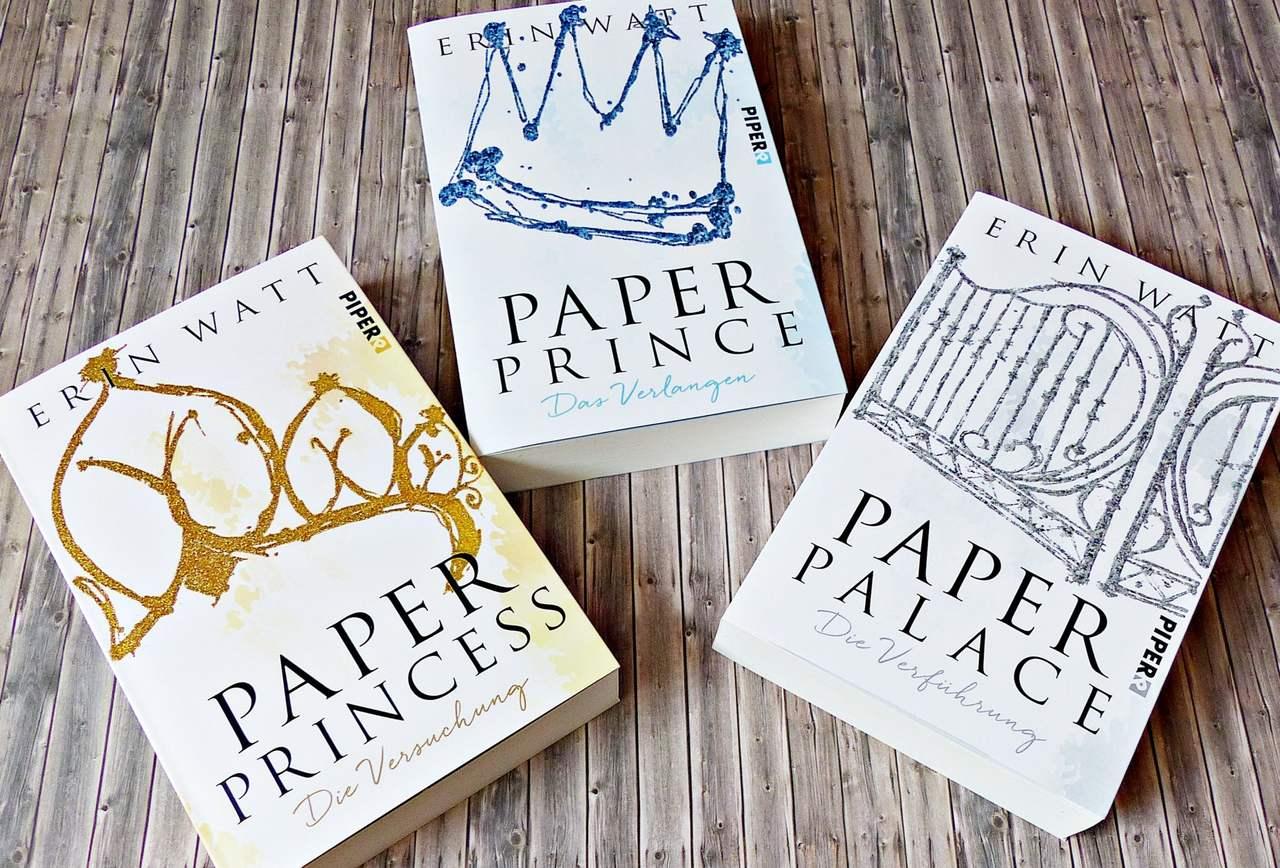 Buchreihe | Paper-Trilogie von Erin Watt